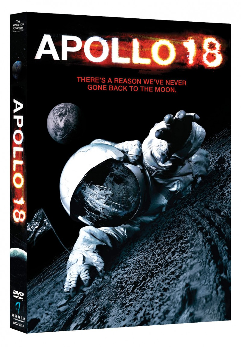 """A GIVEAWAY Sci-Fi Fans will LOVE """"Apollo 18"""" DVD"""
