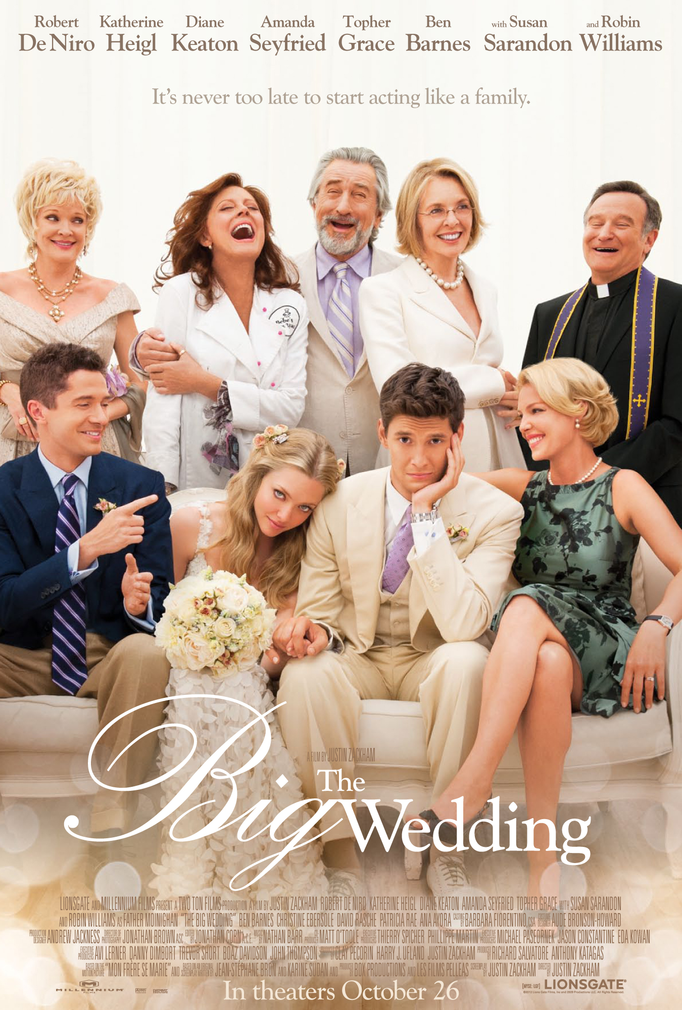 Wedding movies are always hilarious #BigWedding