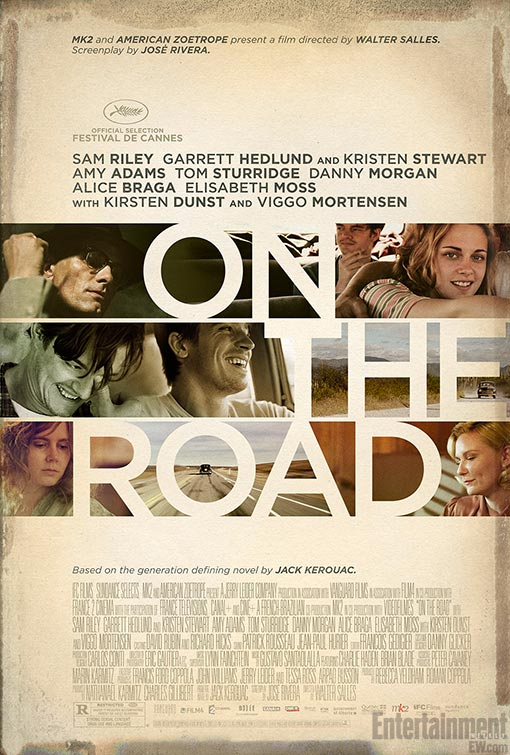 On the Road, not again, just for now, it's a new movie
