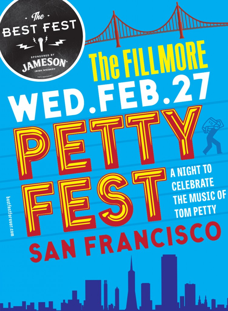 The Petty Fest adds Aimee Mann to their lineup in celebrating Tom Petty #pettyfest