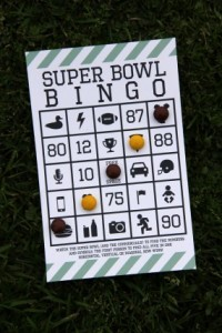 Click for Superbowl Bingo
