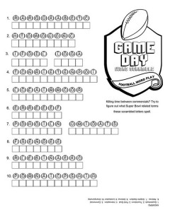 Click to print Superbowl Game