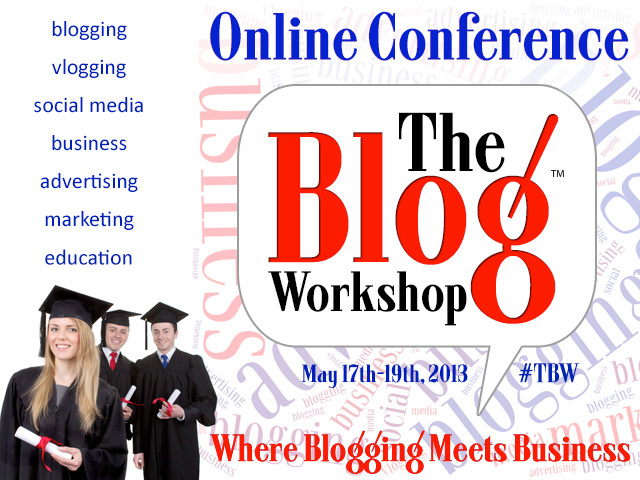 The Blog Workshop is a MUST for you passionate bloggers and vloggers out there #TBW