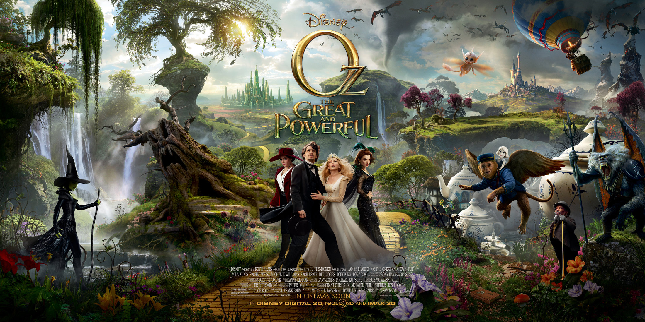 Oz The Great and Powerful exciting printables & fun