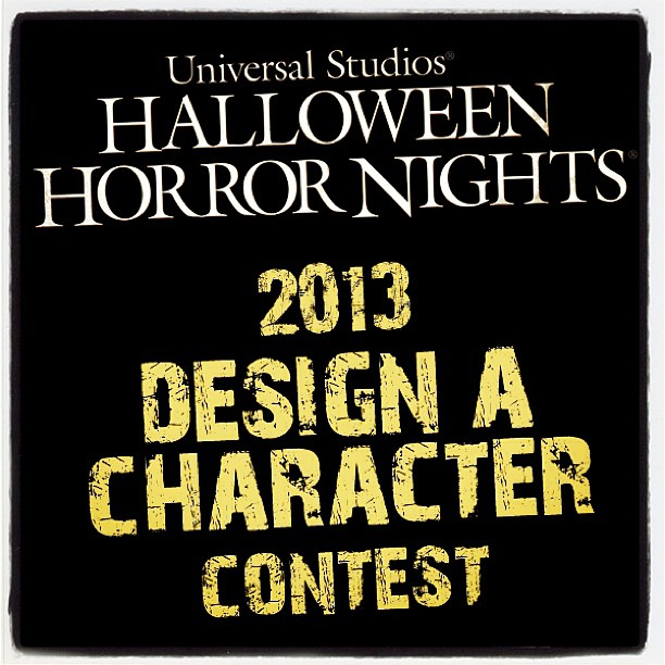 Design a monster for Universal Studios' Halloween Horror Nights @HorrorNights