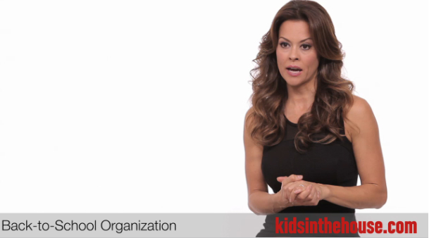 Who knew Brooke Burke-Charvet was so mom smart!? #backtoschool