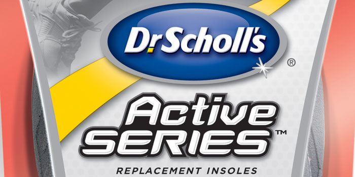 Your feet need some attention from Dr. Scholl's #activeseries