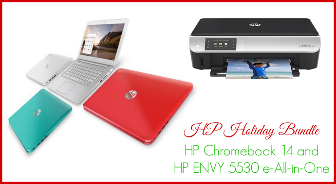 HP Family Bundle Giveaway – Chromebook & Printer value of $430