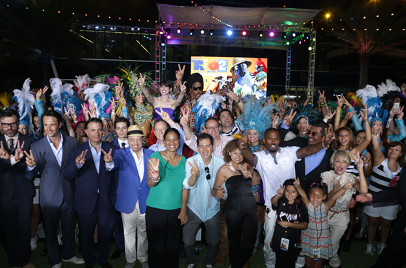 20th Century Fox puts on their dancing shoes for a RIO 2