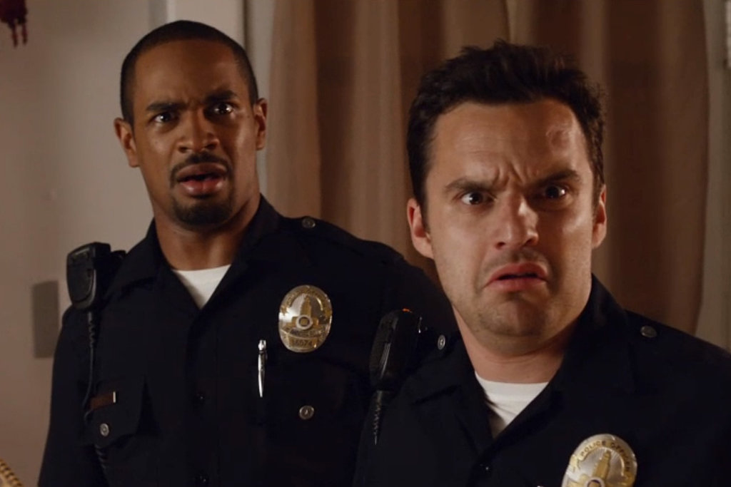 Funny guys from New Girl star in #LetsBeCops