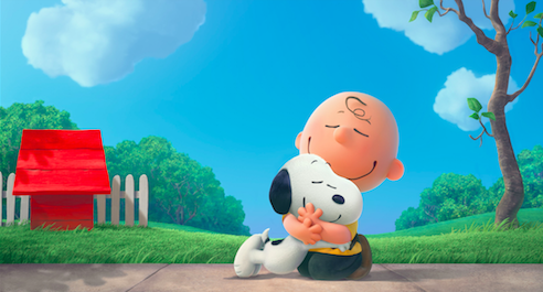 Snoopy just couldn't be quiet, but we forgive him